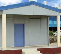 HabiNest used to construct canteens, shelters at manufaturing units